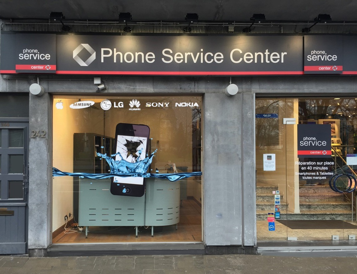 Phone Service Center - Liège