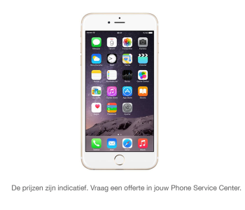 Herstelling Iphone 6S